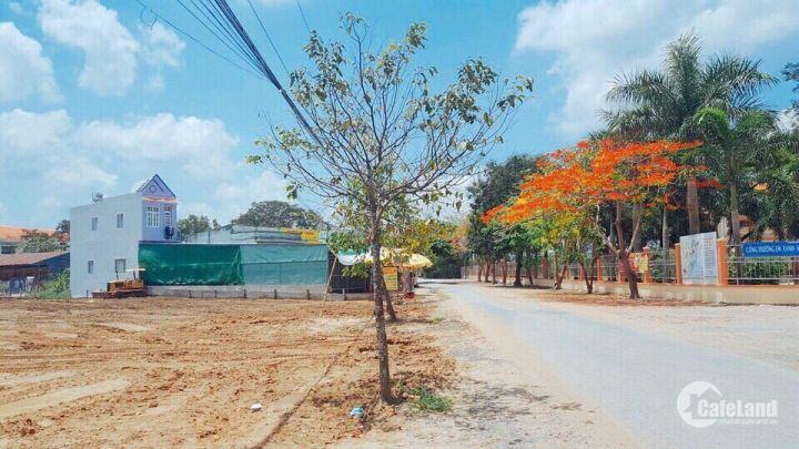 đất thổ cư gần chợ đối diện trường học đã có sổ gia chỉ 500tr/nền LH 0931448501