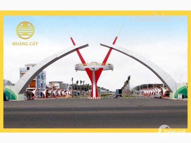 Cơ  hội đầu tư sinh lợi cao tại Khu đô thị Hoàng Cát Center chỉ 430 triệu/nền, sổ hồng riêng, LH: 0903341321