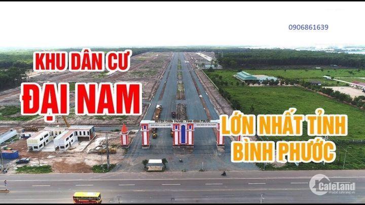 Mở bán KDC Đại Nam quy mô nhất Bình Phước LH:0906861639