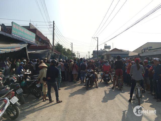 Vợ chồng tôi lên Sài Gòn sống nên bán 600m2 đất ở KCN giá 453tr/nền