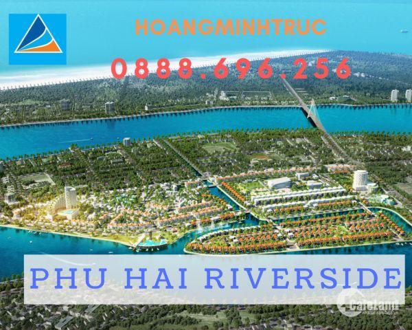 Đất Xanh độc quyền phân phối GĐ 2 dự án Phú Hải RiverSide (Đất BT View sông và LK đường 25m)