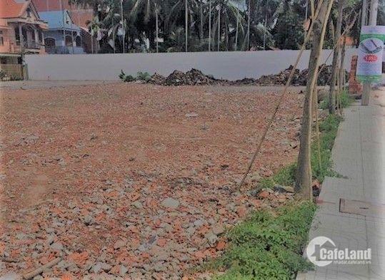 đất nằm mặt tiền huyện Bình Chánh, xã Bình Chánh