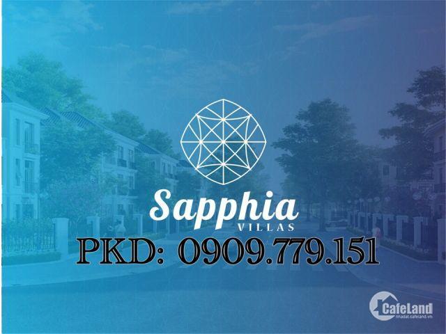 Đất nền dự án SAPPHIA VILLAS đã có sổ đỏ