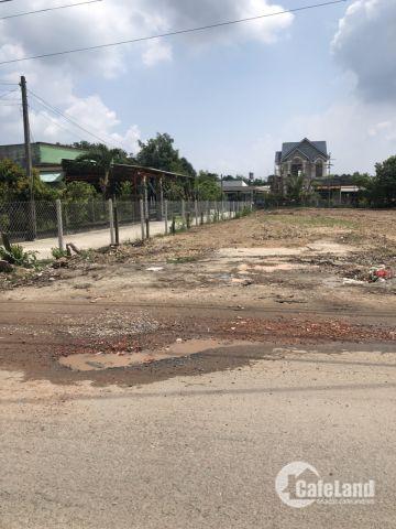 Bán lô đất mặt tiền QL22 đối diện bệnh viện Xuyên Á