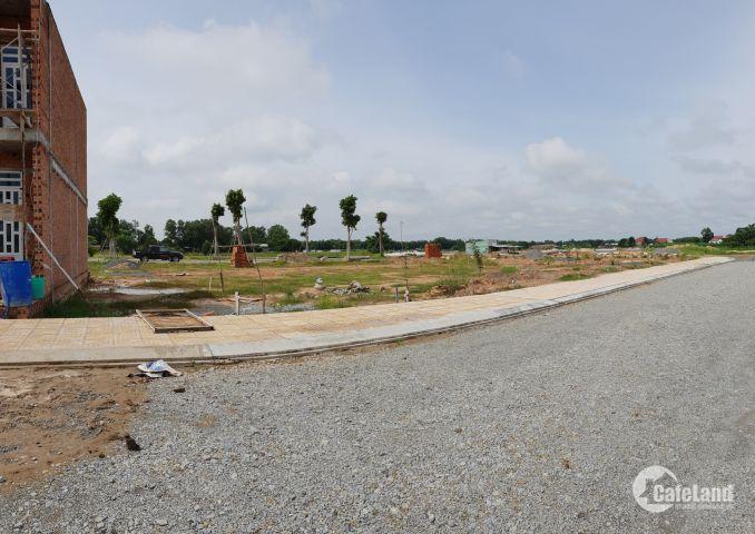 Bán Đất Nền Củ Chi, Tỉnh Lộ 8 Giá 370 Triệu/Nền, SHR