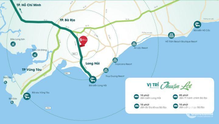 Đất trung tâm Bà Rịa - Vũng Tàu - Giá đầu tư cực tốt chỉ từ 7,9tr/m2 - Liên hệ 0898 139 661 - 0902 35 44 65