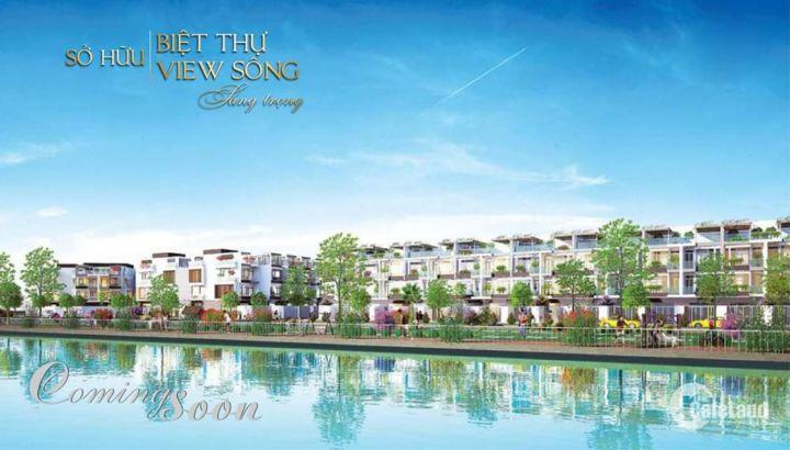 Đầu tư nghỉ dưỡng với Phân khu biệt thự Royal River