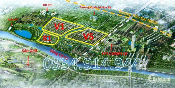 Bán Đất Nền FPT City Đà Nẵng - Cập Nhật bản Hàng Liên Tục. LH: 0934.914.944