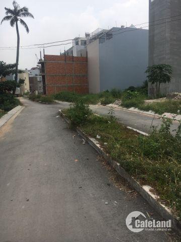 Cần sang lại  80m2 đất nền Q12 - Gần Lê Thị Riêng - Giá chỉ 20.5tr/m2 - SHR.
