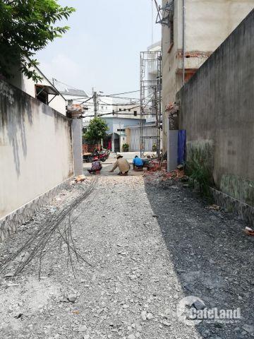 bán lô đất mặt tiền đường THẠNH MỸ LỢI