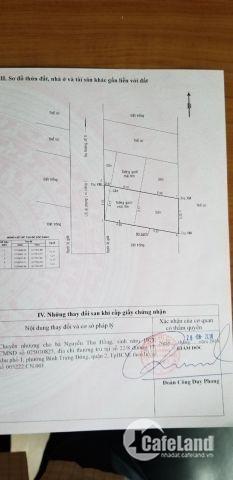 cần bán gấp lô đất 60m2 giá 3 tỷ tại quận 2, mặt tiền đường số 6