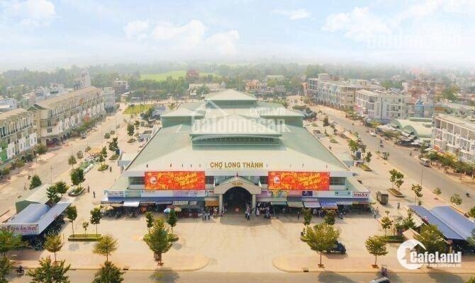 Cần bán đất trung tâm mặt tiền chợ mới Long Thành, giá chỉ từ 660tr/nền, pháp lý minh bạch rõ ràng, LH 0937 847 467