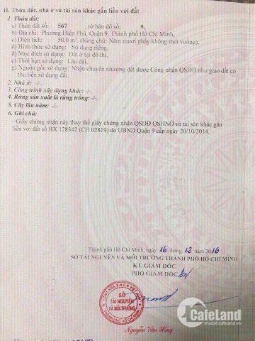 Đất 904 -Tân Hòa, P.Hiệp Phú Quận 9, lô duy nhất Giá chỉ 2,580Tỷ_Hẽm xe Tải,Sổ hồng riêng chính chủ