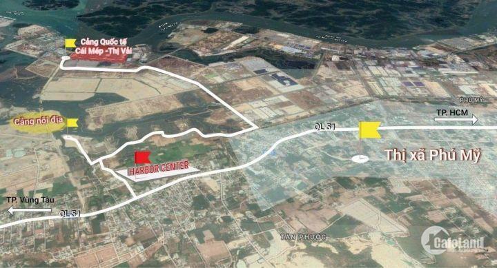 100% Đất nền thổ cư, xây dựng tự do ngay thị xã Phú Mỹ- CK 7%- Ngân hàng hỗ trợ vay 50%- 0931557873