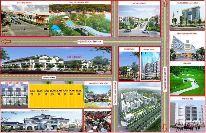 Cần bán đất chính chủ, sổ hồng riêng gần đường Phan Đăng Lưu, phường Tân An, TP Thủ Dầu Một