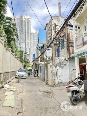 Bán nhà 1 lững (nở hậu) hẻm xe hơi Nguyễn Hữu Cảnh quận Bình Thạnh.