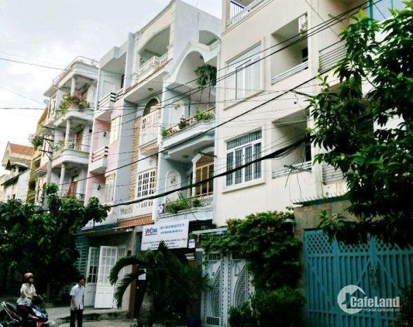 Bán Nhà MT số 6 Cư xá Chu Văn An, P.26, Q. Bình Thạnh, DT: 3.6x12m, 3 lầu, 6.6 tỷ