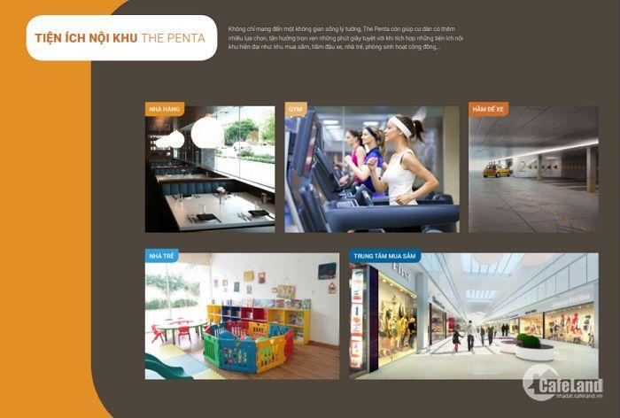 Penta Hoàng Hoa Thám mở bán đợt đầu, giá ưu đãi, ngân hàng cho vay 20 năm