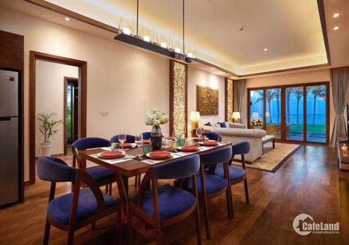 Bán lỗ biệt thự, condotel view biển Movenpick Cam Ranh, giá 6,8 tỷ, tặng 300 triệu