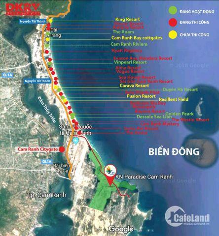 Đầu tư hoàn hảo - Tận hưởng dài lâu tại KN Paradise Cam Ranh
