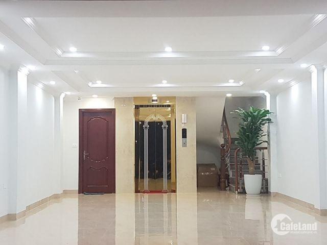 Bán nhà khu VIP, Đống Đa, phân lô, thang máy, 53m2, 8T, MT 5m, giá 17.8 tỷ.