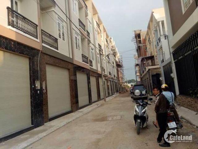 Nhà phố liền kề ngã 3 Đông Quan, Nguyễn Ảnh Thủ quận 12