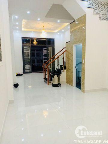 Bán nhà hẻm 2177 Đường Huỳnh Tấn Phát, Nhà Bè, diện tích 150m2, nhà phố 3 tầng, 4PN, giá 3.7 tỷ