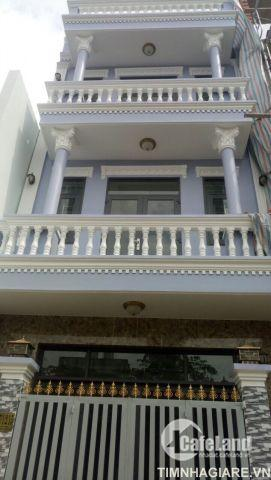 Nhà hẻm 2177 Huỳnh Tấn Phát, Nhà Bè, DT 5m x10m, nhà phố 3 lầu đúc, sân thượng, hướng ĐN, giá 4 tỷ