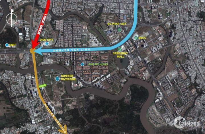 Tin sau Bán gấp căn 2PN Sunrise Riverside, DT: 70.45m2, giá 2,28 tỷ Full VAT