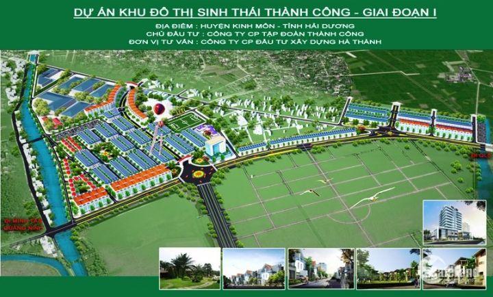 Bán đất nền khu đô thị sinh thái Thành Công- Kinh Môn- Hải Dương.LH 0986284034