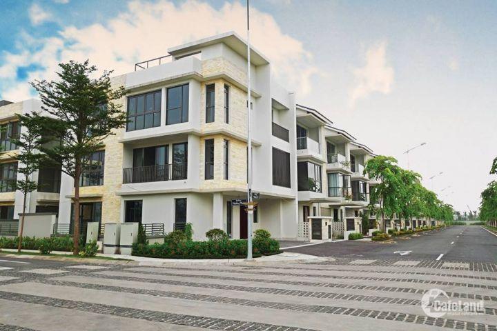 Bán lại biệt thự Arden Park, Thạch Bàn, Long Biên, DT 144m2, mặt đường to