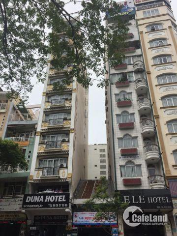 Bán gấp nhà góc 2 Mặt tiền HXH Võ Thị Sáu, Đa Kao, Quận 1, giá 39 tỷ ,TN 200tr/ tháng, 6 tầng.