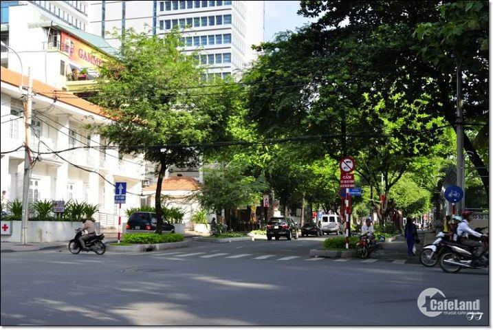 Bán nhà 2MT HXH Nguyễn Trãi, 12x20, GPXD, Hầm+8 lầu, giá 36 Tỷ