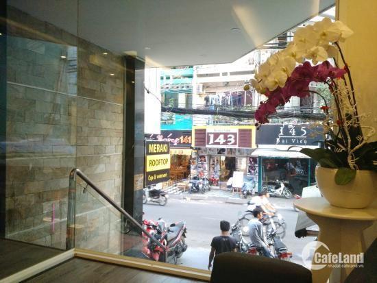 Bán khách sạn ngay phố Bùi Viện, doanh thu 1.5 tỷ/năm, giá 25 tỷ