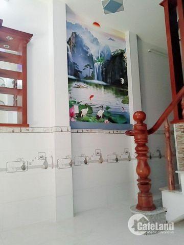 Bán nhà 2 lầu 1 sẹc hẻm xe hơi Lê Văn Khương DT 3,4x8m, giá 1,36 tỷ