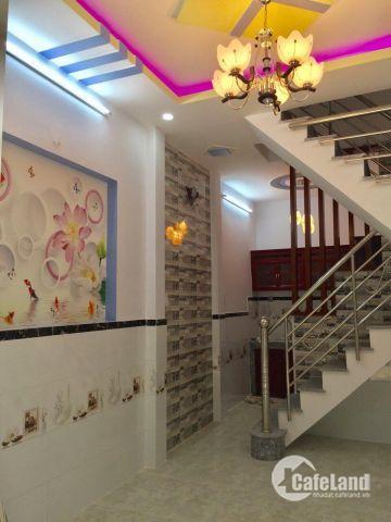 Bán nhà mới xây đường Lê Văn Khương, DT 3,5x8m, giá 1,36 tỷ.