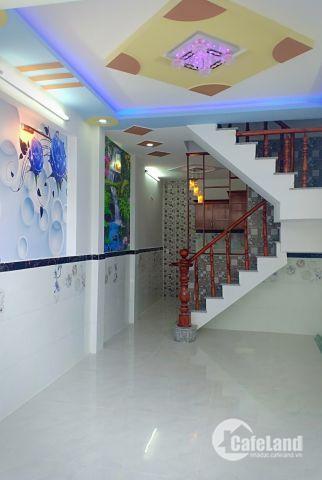 Bán nhà đường Dương Thị Mười , Quận 12, vị trí đẹp , mới xây 1 trệt 2 lầu