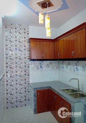 Nhà bán mới xây 1 trệt 2 lầu gần bệnh viên Q12, phường Tân Chánh Hiệp