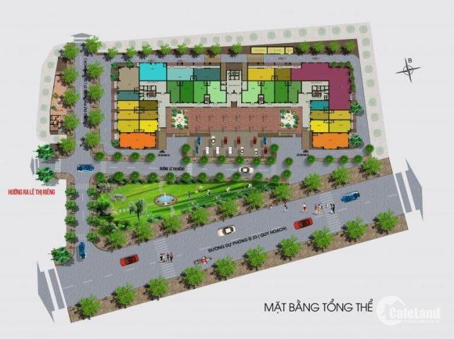 Căn hộ Green Mark quận 12 giá CĐT mở bán đợt 1 chỉ 990 triệu căn 2pn cam kết sinh lời ngay