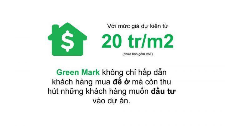 CĂN HỘ GREEN MARK ĐƯỜNG LÊ THỊ RIÊNG, TRUNG TÂM QUẬN 12, CHỈ 20TR/M2, PKD 0776.109.331