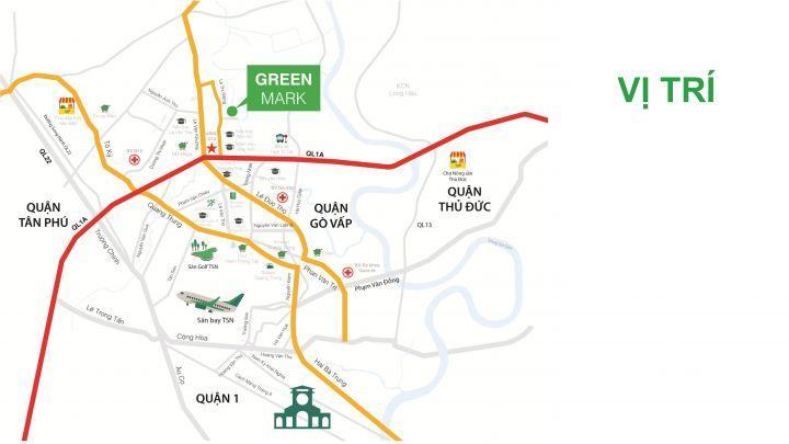 Nhận báo giá dự án Green Mark, căn hộ chuẩn xanh quận 12