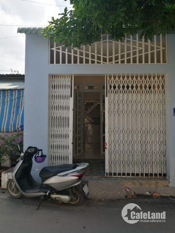 Bán nhà mặt tiền gần BV Quận 12, sổ riêng, DT 4x15,5m. lh 0938971316