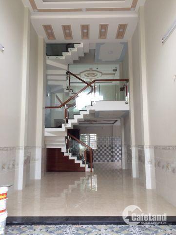 Bán nhà 1 trệt 1 lững 2 lầu 4x17m nỡ hậu 6m giá 4.2 tỷ,  HXH đường  Nguyễn Anh Thủ , P. TCH, Q12.
