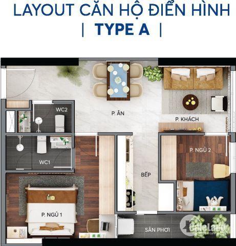 Chính chủ cần bán gấp căn hộ quận 2 3PN, tầng cao - 88m2. sắp nhận nhà.