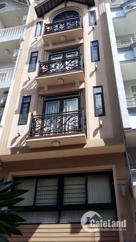 Căn góc 2 mặt tiền đường Bàn Cờ (8,1m x 20m) 4 tầng cho thuê 120tr/tháng