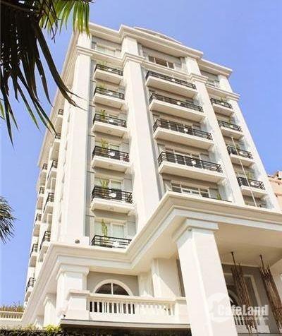 bán tòa nhà 7 Trần Quang Diệu, P14, Q3, ngang 10m, 1 hầm 8 lầu, 39 tỷ