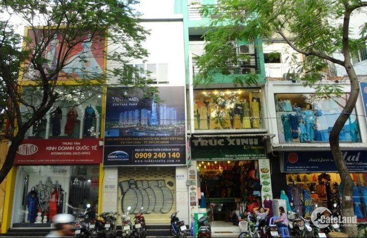 Bán nhà MT đường  Trần Văn Đang,P11,Q 3 7 lầu giá chỉ 13,4 tỷ TL