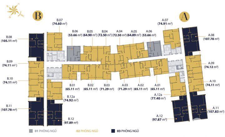 Bán gấp căn hộ giá tốt nhất thị trường, 2PN, 2WC giá bán: 3.95 tỷ. LH: 0916.913.138