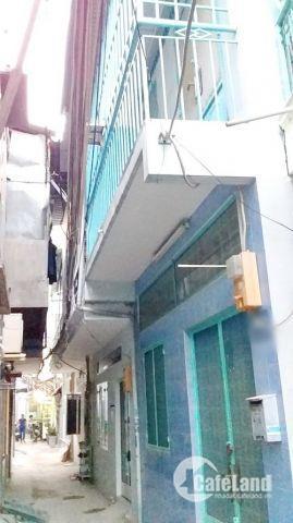 Nhà nở hậu Hẻm 380 Lê Văn Lương, P. Tân Hưng, Quận 7. Giá tốt 2.35 tỷ(TL).