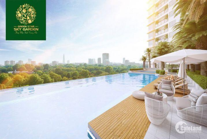 Sang nhượng căn hộ Green Star Sky Garden, Phú Mỹ, Q.7, giá tốt đợt 1